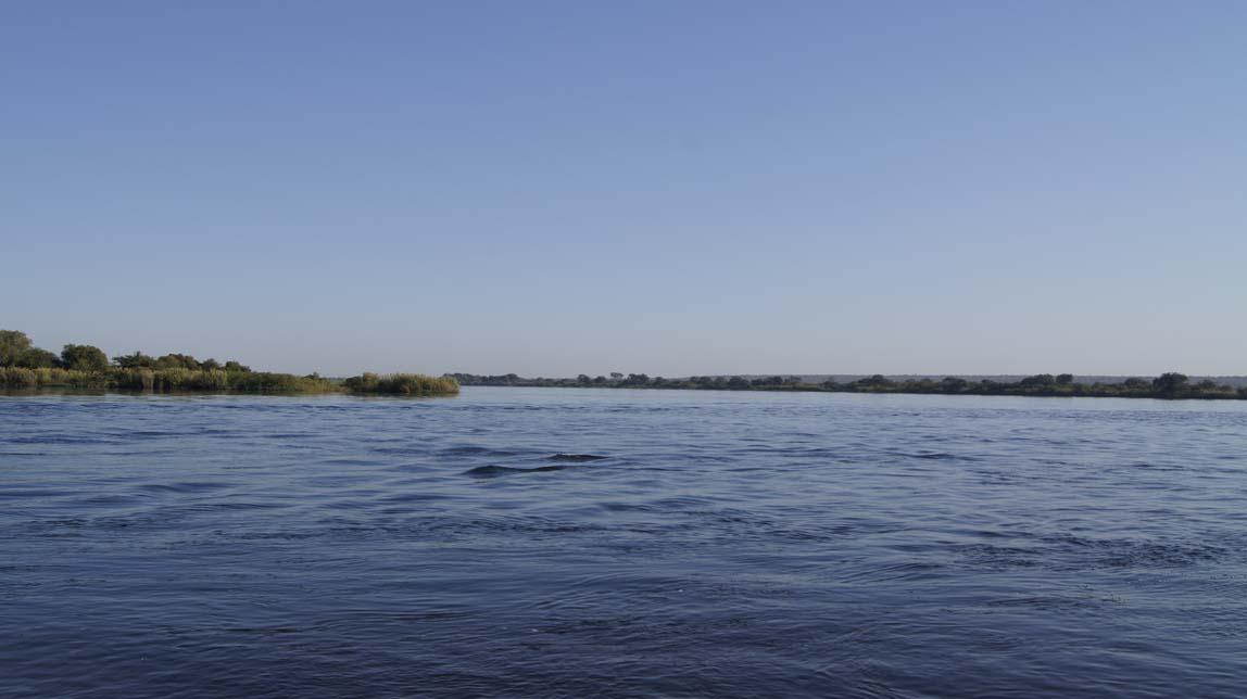 border at the river
