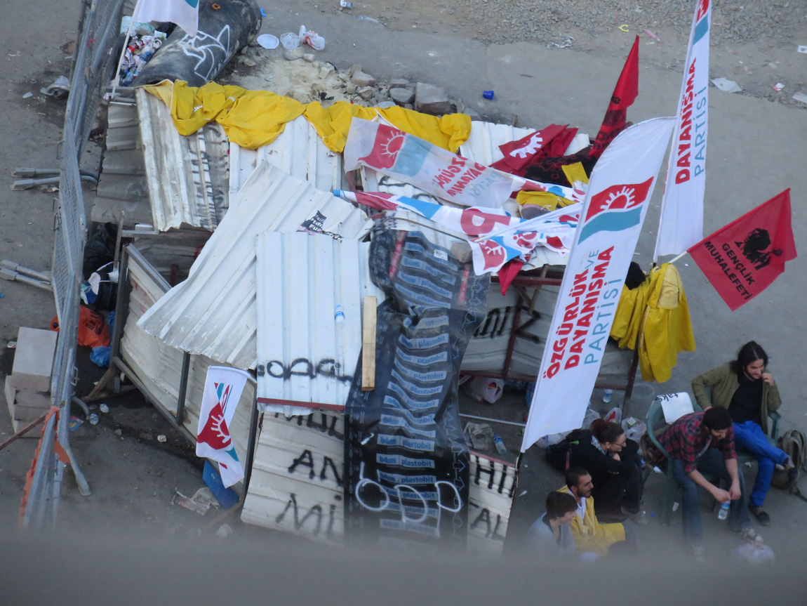 camps of the protesters
