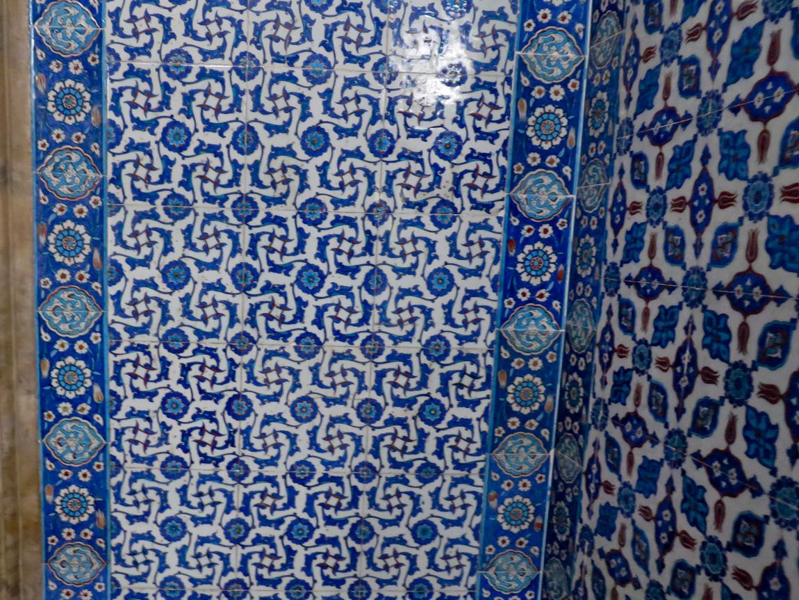 tiles in mosque