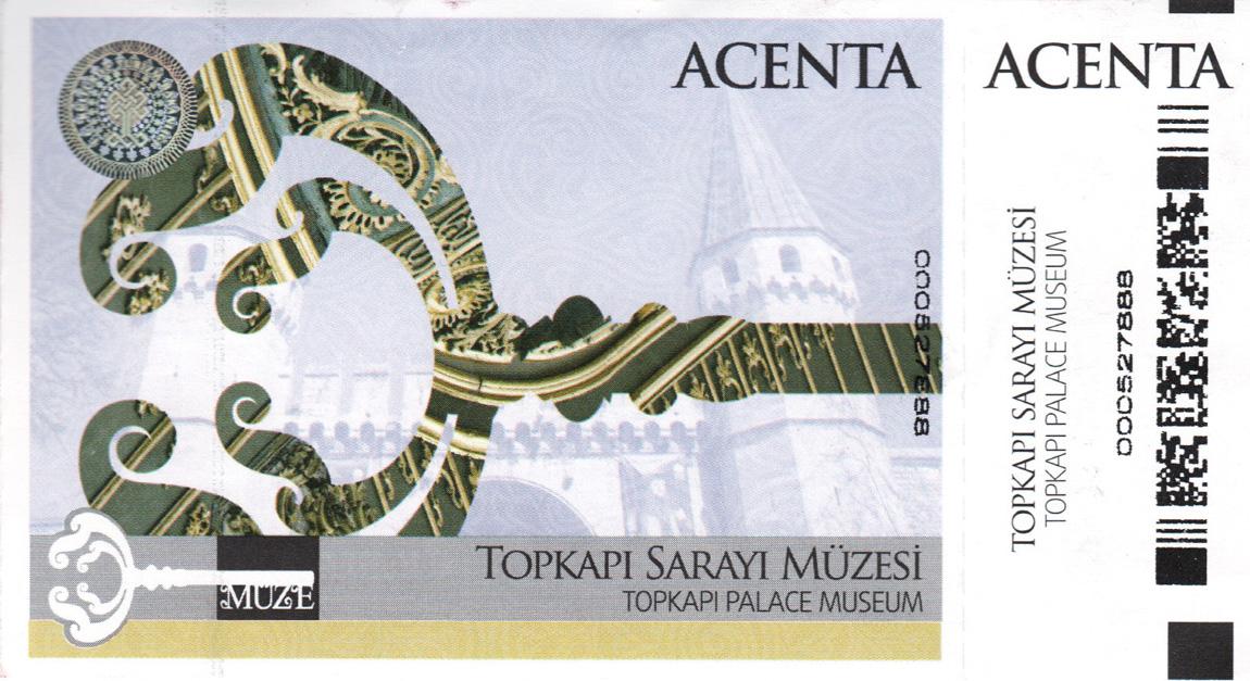 Topkapi ticket