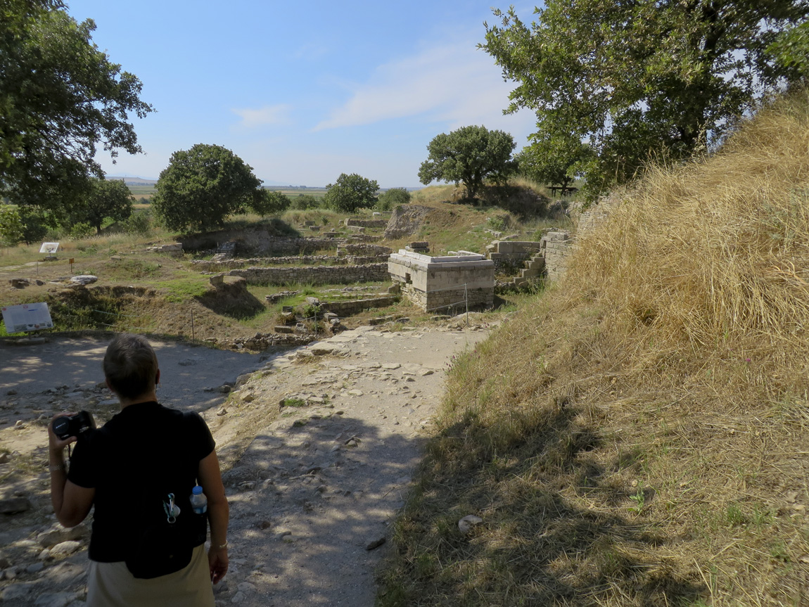 next to the Odeion