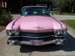 pink cad front view