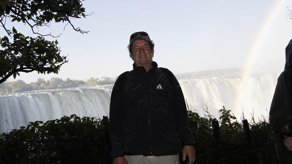 John at Victoria Falls