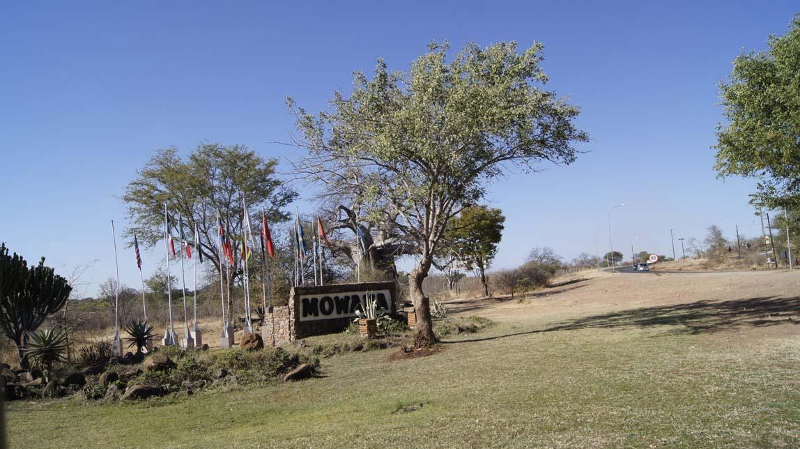 Mowana Safari Lodge driveway