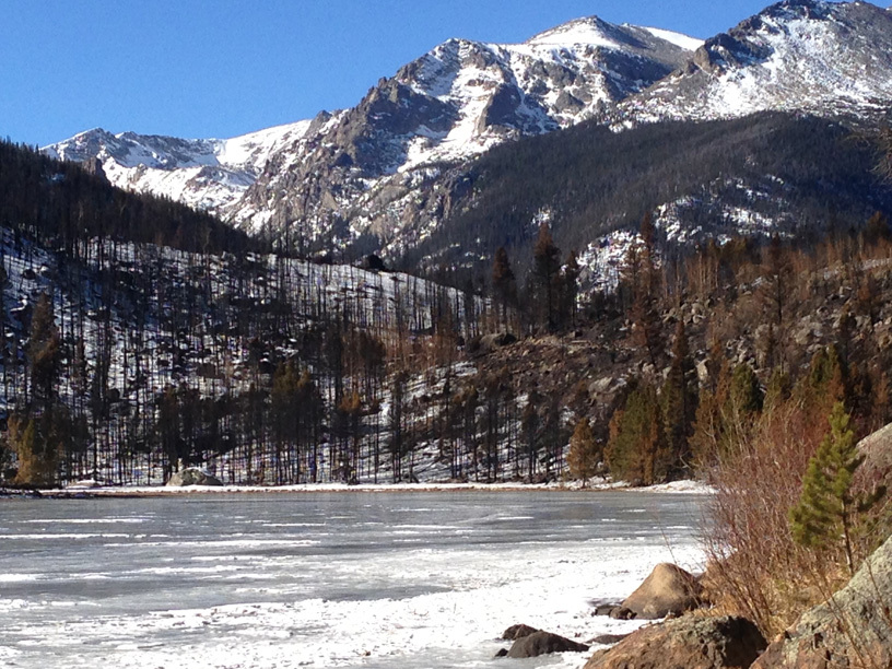 Cub Lake January 2013