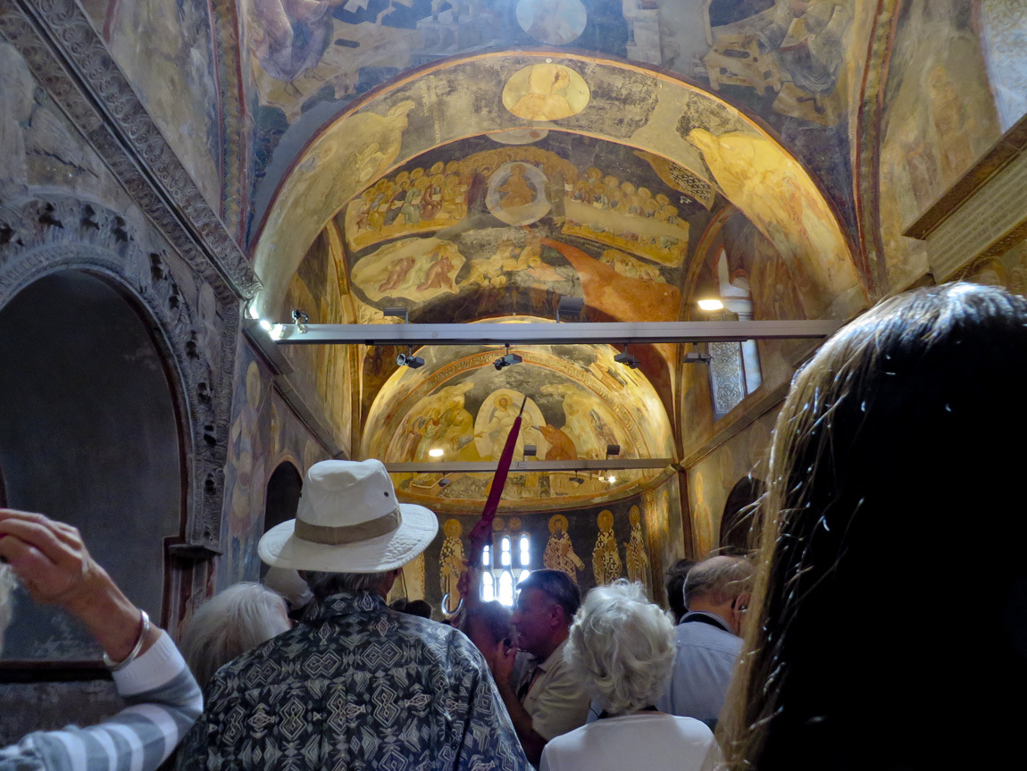 inside the Chora Church