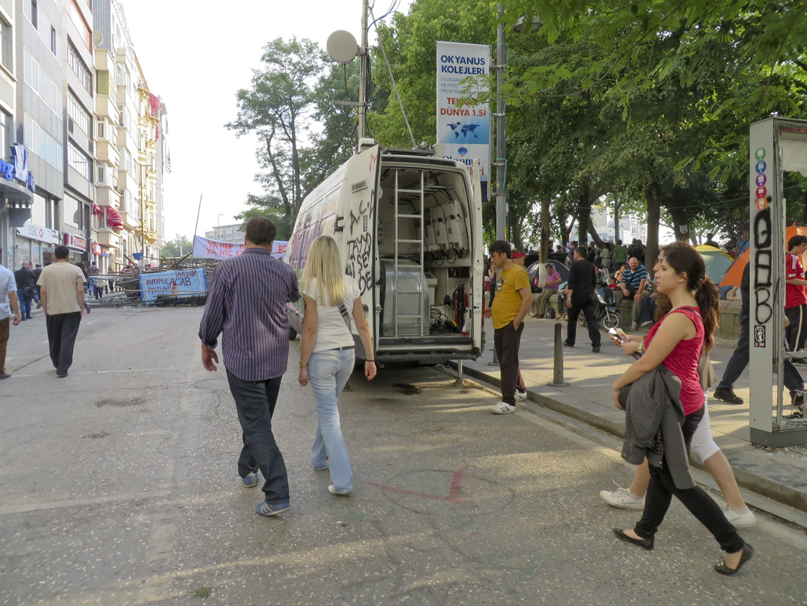 Taksim Square van