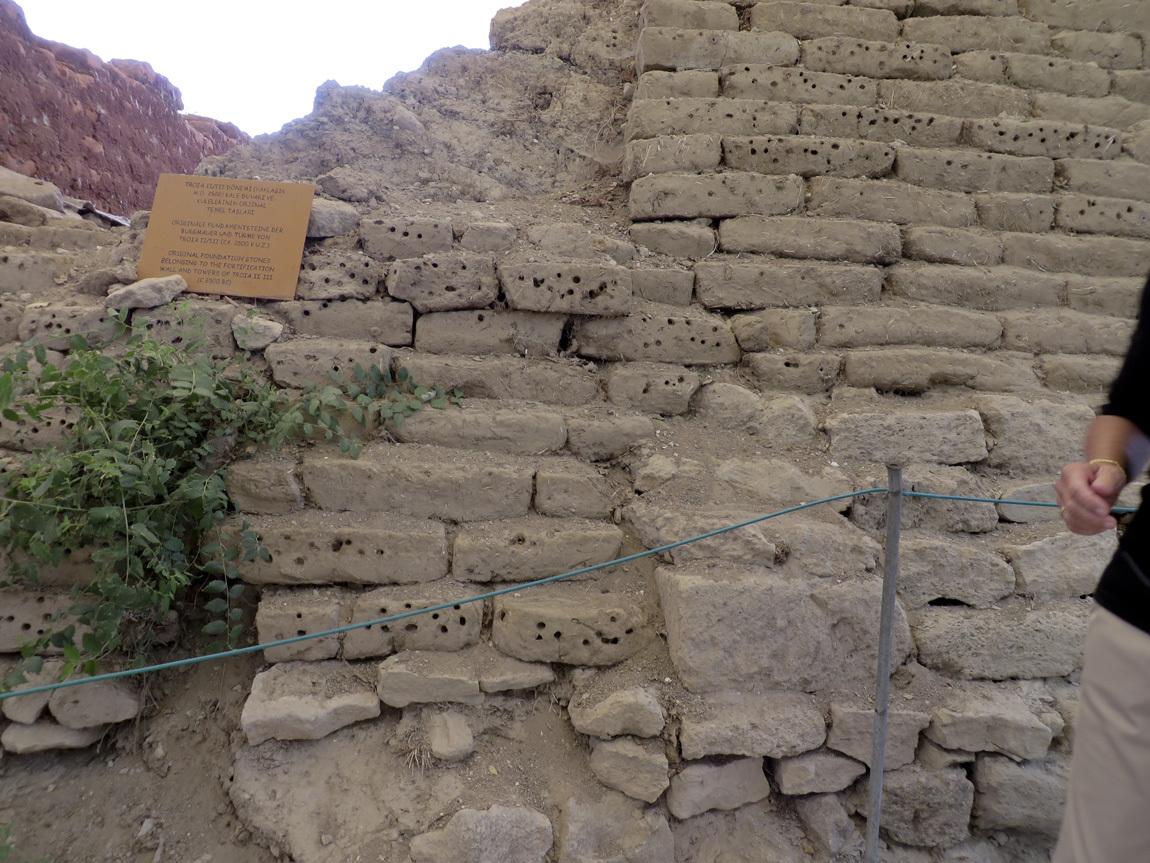 Troia II, III walls
