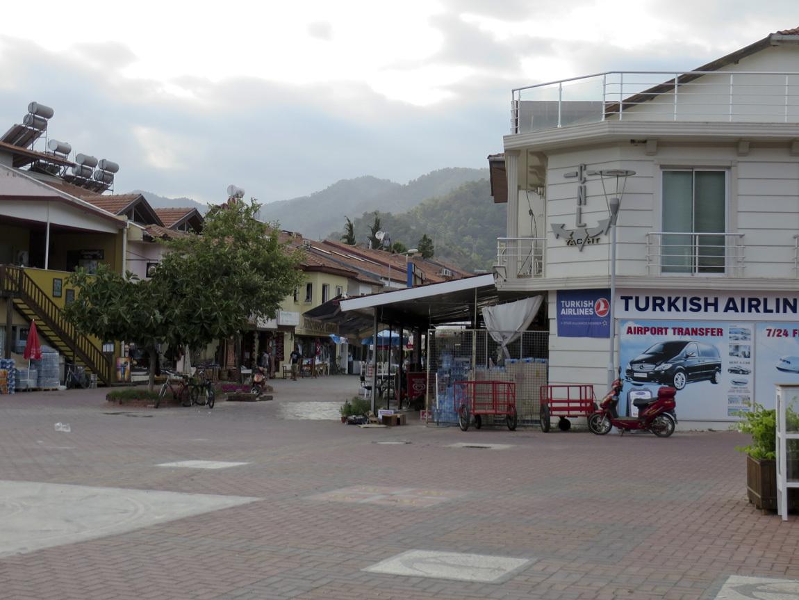 Gocek town square